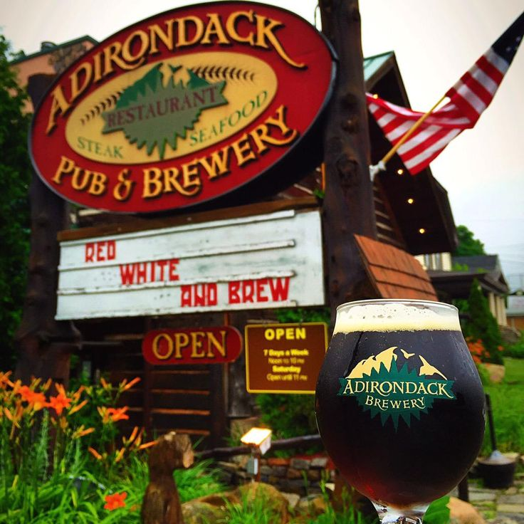 Lake Georges Local Brewery : Adirondack Brewery
